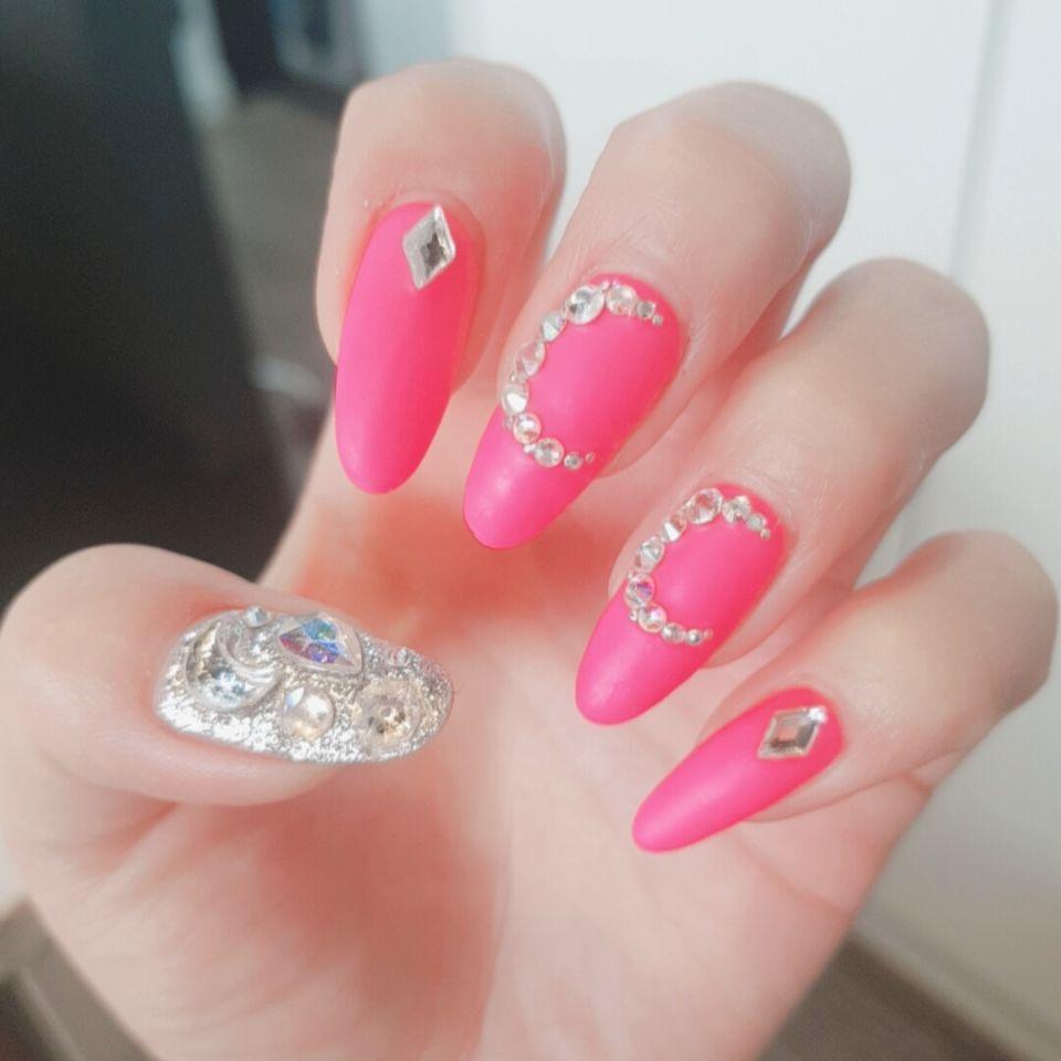 아몬드,핑크,풀컬러