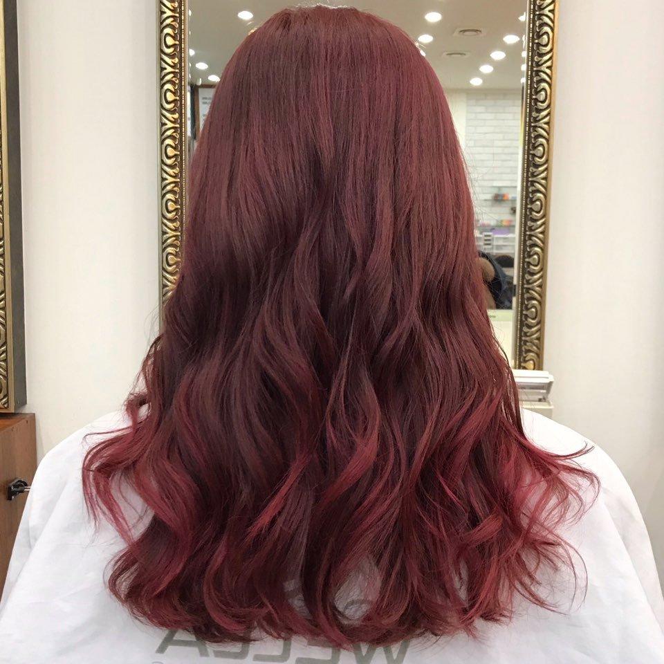 핑크브라운,애쉬바이올렛
