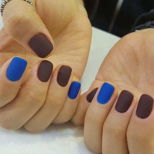스퀘어,브라운,블루,풀컬러,매트
