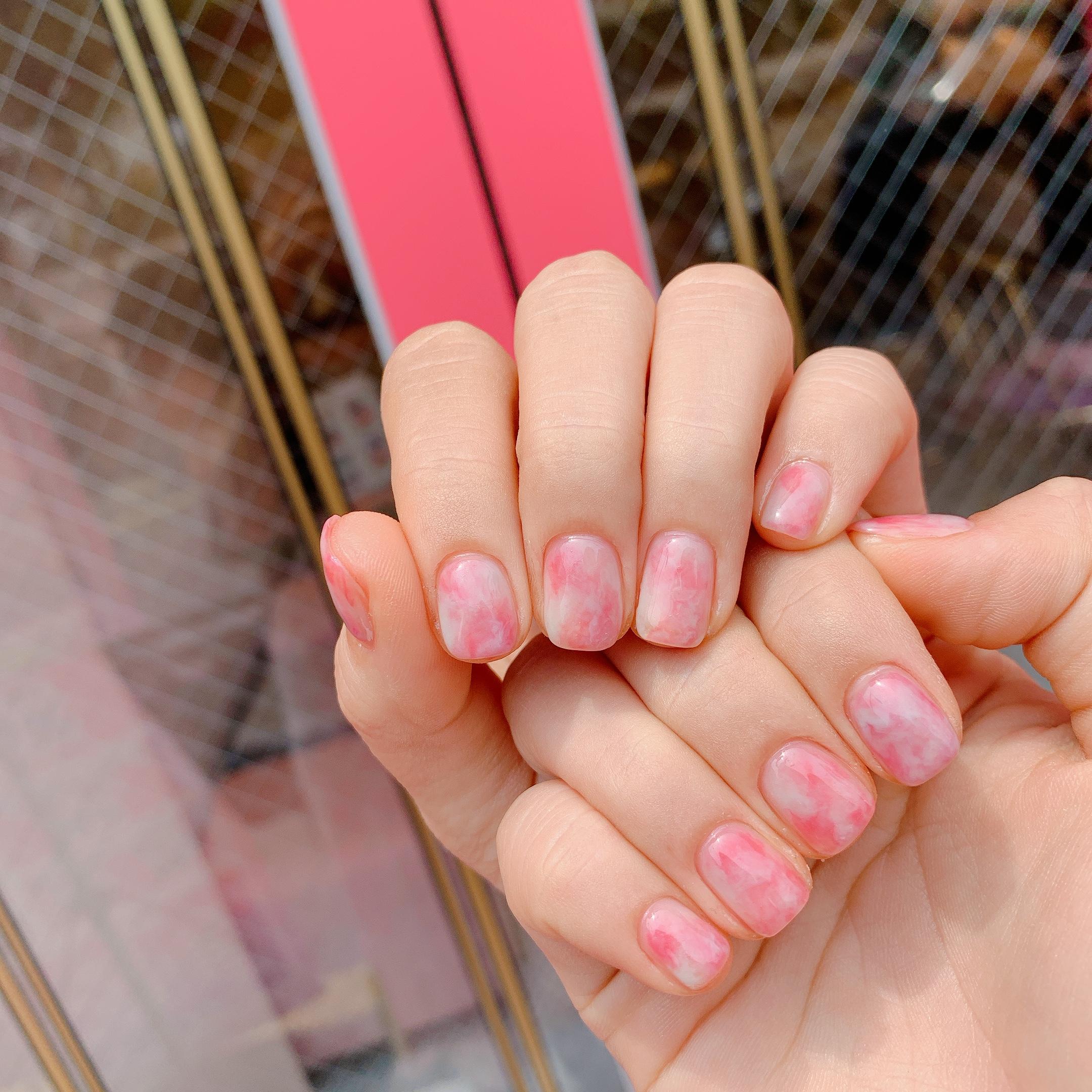 스퀘어,핑크,마블