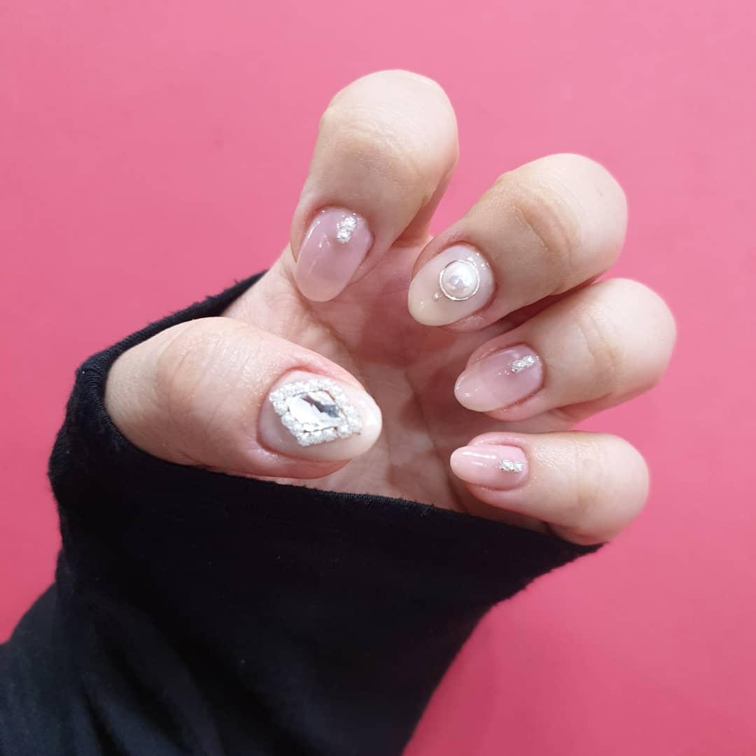 아몬드,핑크,시럽